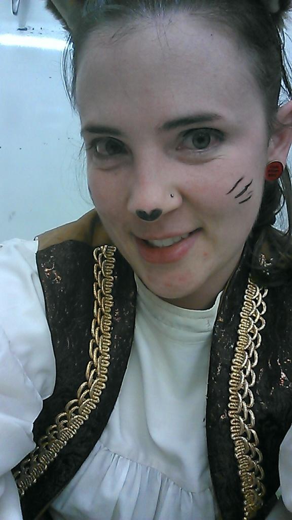 I'm a Cat in a children's musical